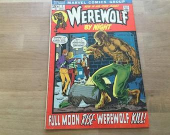 Loup-garou de nuit N° 1 Volume 1 Marvel Comics septembre 1972