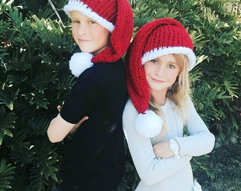 Baby Santa Hats, Adult Santa Hat, Santa Hats, children Santa hat