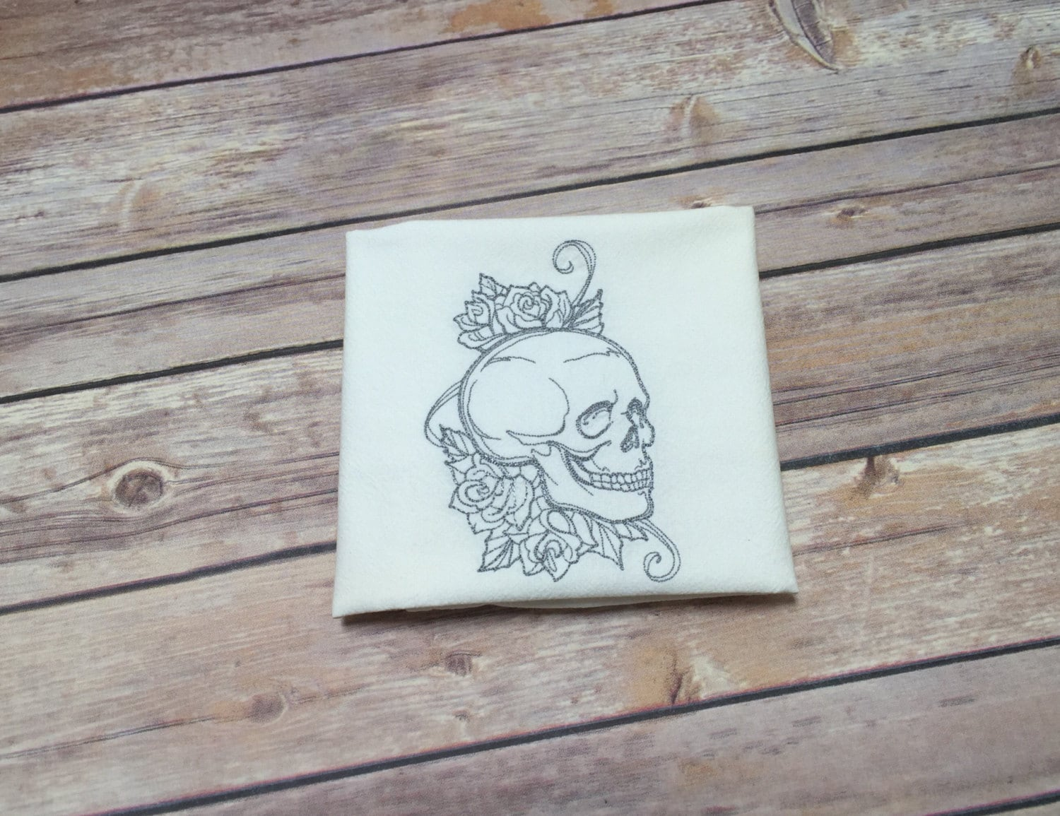 skull decor halloween home decor halloween kitchen towel