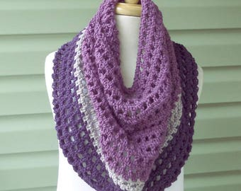 PATTERN C-030 / Crochet Pattern / Darby Cowl ... worsted or aran weight yarn