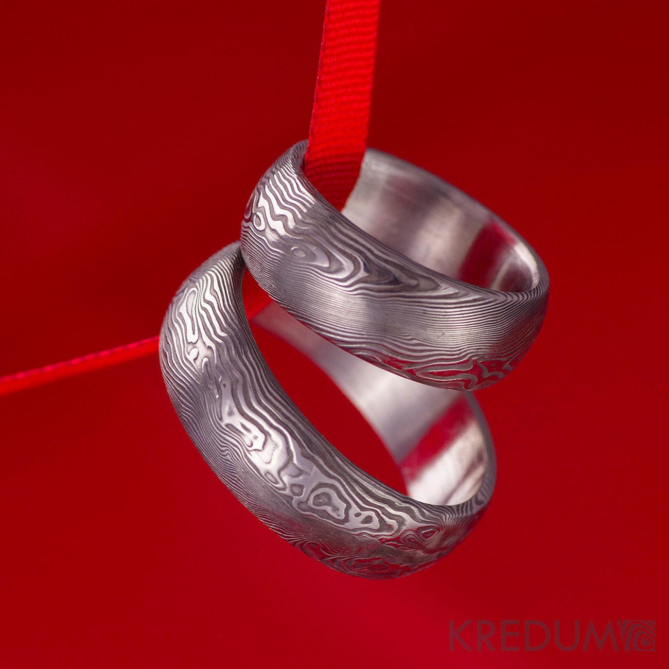 artist forged sterling jewelry choice kathryn and ring garnet by silver rings heirloom hand stewart bamboo bonsai ben s modern