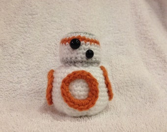 Star Wars Inspired BB-8 Amigurumi Crochet Figure