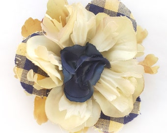 Mellow Yellow Picnic Flower Fascinator