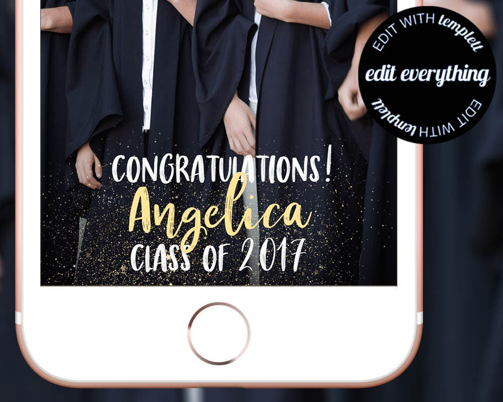 snapchat geofilter template free - graduation snapchat geofilter custom geofilter graduation