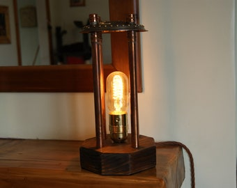 Industrial Steampunk light