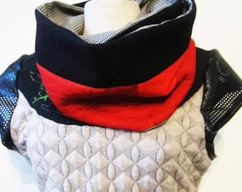 snood collar gashes man / mixed reversible n 2