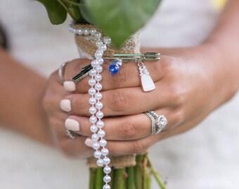 Wedding pin/bouquet pin/ boutonnière pin/ wedding pin/ something blue pin/ bride and groom pin/ wedding accessory/ bouquet accessory/ bride