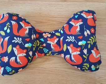 Fox Infant Head Support - Torticollis - Positional Plagiocephaly - Elephant Ear Pillow - Car Seat Head Support - Unique Baby Shower Gift