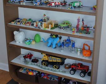 Modern Shelving Unit, Kids Shelving, Bedroom Furniture