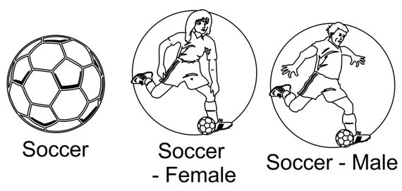 8x10 Soccer Picture Frame Soccer Decor Soccer Parent Gift