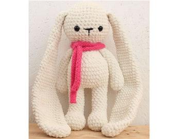 Stuffed Animals Rabbit Bunny Crochet Plush Toy Crochet Bunny Plush Bunny Stuffed Bunny Toy Bunny Stuffed Rabbit Crochet