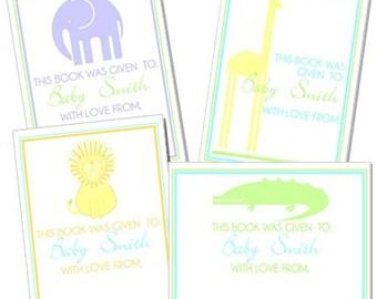 Mod Safari Bookplates