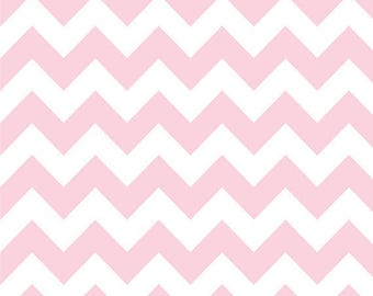 Baby Pink Chevron (Flannel)- Personalized Name Blanket - Baby shower - Baby gift - newborn