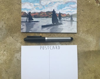 Witches on the Wilamette Postcards