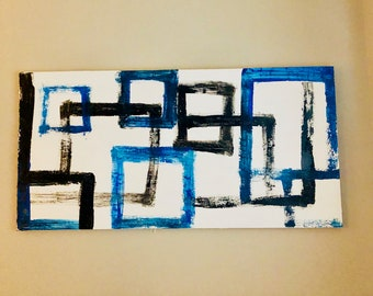 Modern Geometric Canvas Art