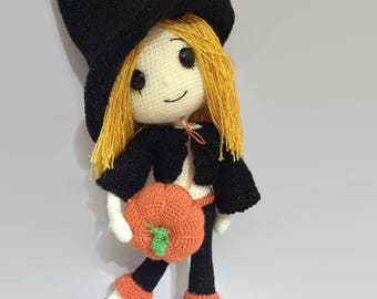 PATTERN - Cute Witch Wendy