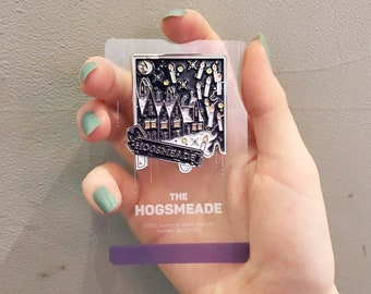 Harry potter concept pin badge - The hogsmeade