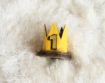 Where The Wild Things Are Max Crown, Where The Wild Things Are Party Supplies, Wild One Crown, Max Crown, Wild Thing Crown, 1 Birthday, 5th