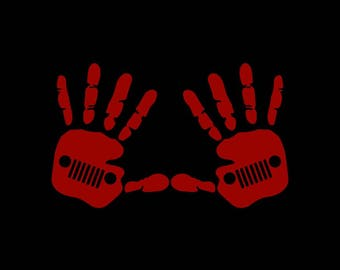 Jeep Wave TJ (Pair) Decal