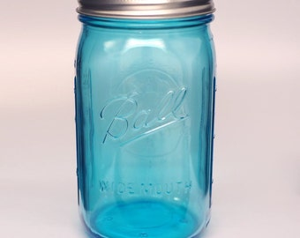 Ball Collection Elite Color Series widemouth Mason Jars 32 oz