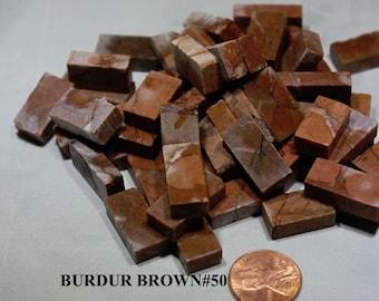 Mosaic Marble Tile - BURDUR BROWN #50