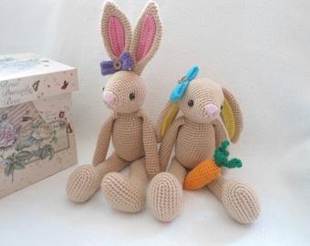 Sweet bunny crochet pattern