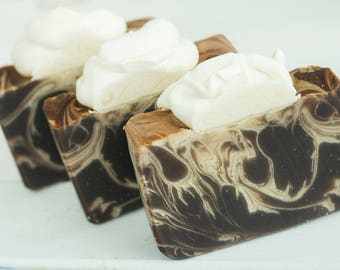 Café Latté Handcrafted Artisan Soap made with Milk & Cream ~ For the Coffee-Lover in Your Life