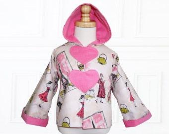 Coat Patterns, Jacket Patterns, Hoodie Patterns, Girls Sewing Patterns, Girls Jacket Patterns, Childrens Sewing Patterns, LOVE Hoodie