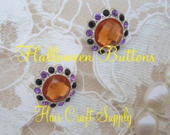 Halloween Buttons - set of 2