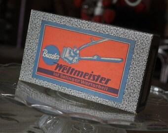 Old push mower - Busch Weltmeister.