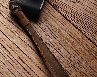 MS Edition Handmade hand stitch hand crafted Genuine Cowhide Leather cameras Hand Wrist Strap for Leica Nikon Sony Fujifilm Canon panasonic