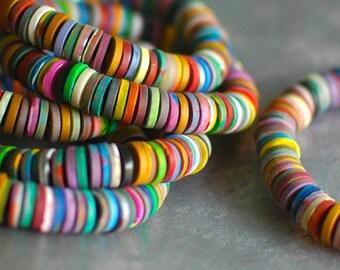 Reef color beaded bracelet