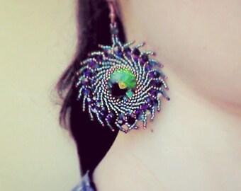 Photo Tutorial ENG -  ITA ,DIY Earrings,*Asah* earrings ,PDf Pattern 31