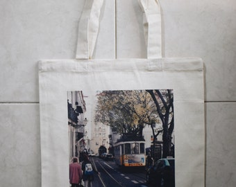 Another Day in Lisbon Travel Tote Bag