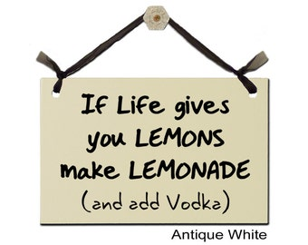 If Live gives you LEMONS make LEMONADE (and add Vodka)