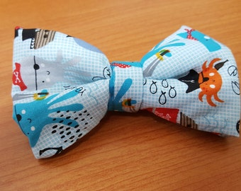 Puppy Pirate Bow Tie