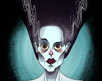 Bride of Frankenstein (Print