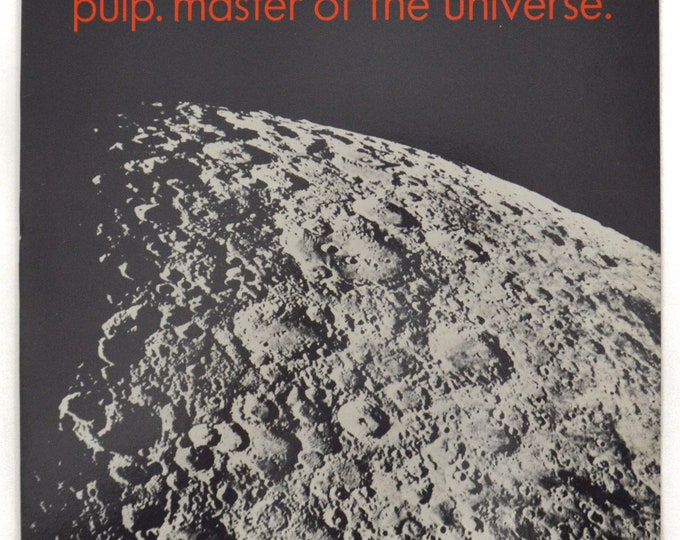 """Vintage 80s Pulp Master of the Universe UK Import Indie Rock 12"""" Single Record Vinyl"""