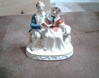 Vintage colonial Figurine made in occupied japan