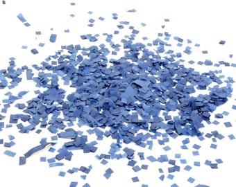 Dark Blue Square Tissue Paper Confetti