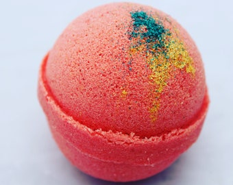 Peppermint Fantasy -Sleigh Ride! Christmas bath bomb 3.5 oz