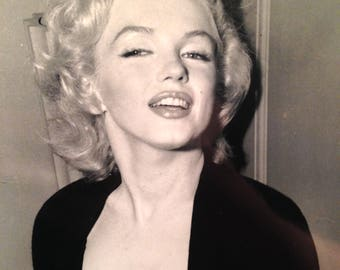 Marilyn Monroe 1950's Original Press Print- Otto Bettmann Archive- Signed? RARE