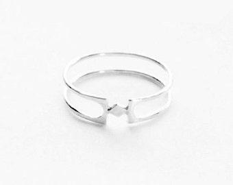 minu - silver ring