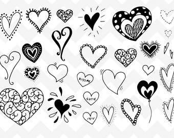 Line Art Love Heart : Cartoon line drawings art love heart youtube