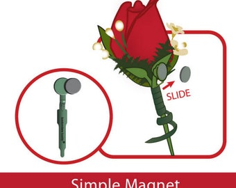 Boutonniere Corsage Magnets