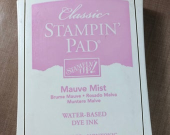 Stampin Up Classic Ink Pad - Mauve Mist