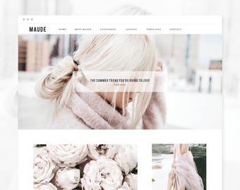 Wordpress Theme | Genesis Child Theme | Maude