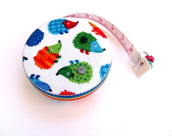 Measuring Tape Rainbow Hedgehogs Retractable Tape Measure