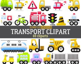 Transport clipart, Vehicle clipart, Car clipart, Truck clipart, Transport clip art, Cars clipart, Vehicles clipart, Police car