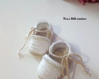 Baby girl crochet/Baby crochet Shoes